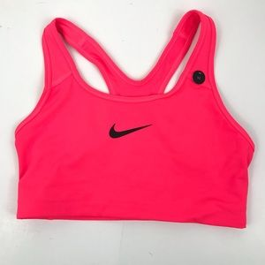New Nike Women's Medium Support Swoosh Sports Bra